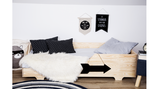 Łóżko drewniane klasyczne PAO