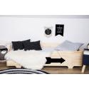 Łóżko drewniane klasyczne LEO