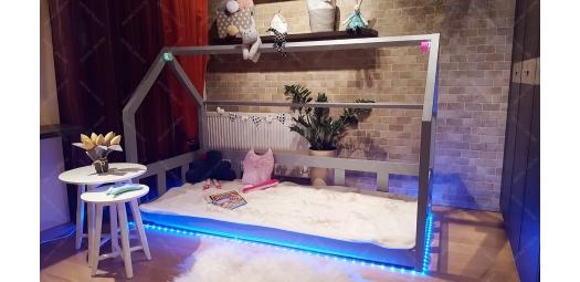 Taśma LED RGB Pełen Zestaw do łóżka (bez lutowania)