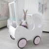 Drewniany wózek dla lalek