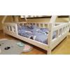 Łóżko domek drewniane dla dzieci TIPI 2 Naturalny