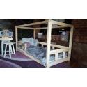 Łóżko domek drewniane dla dzieci Kalia