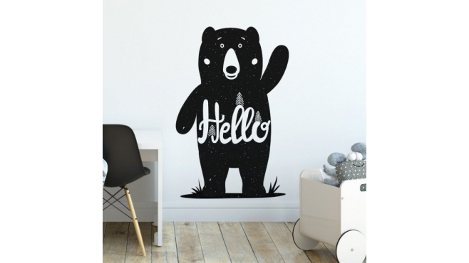 Naklejka FRIENDLY BEAR