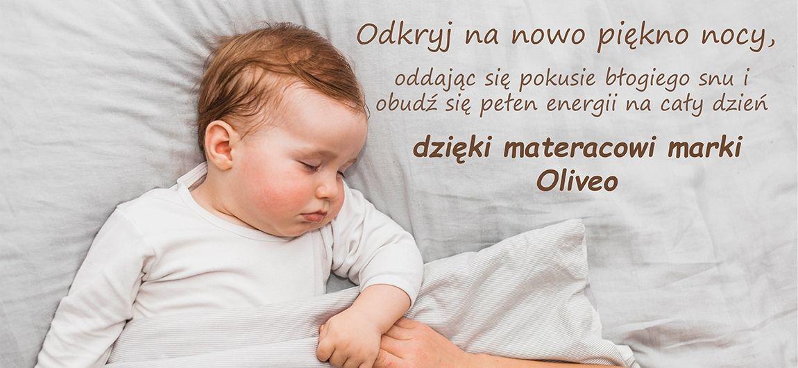 Materace dla dzieci Oliveo