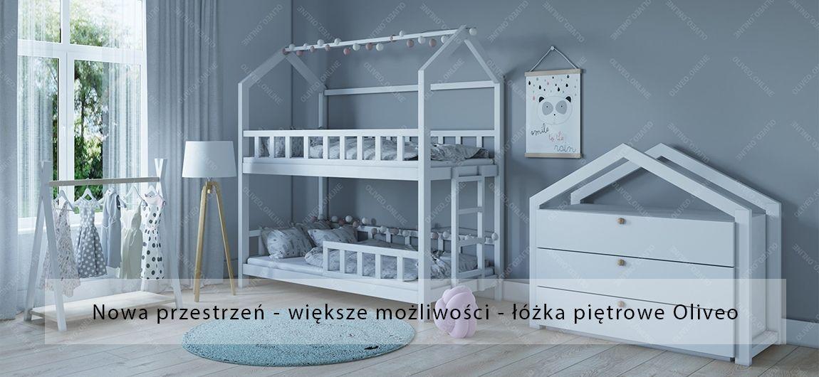 Wyposażenie pokoju dziecka - drewniane meble